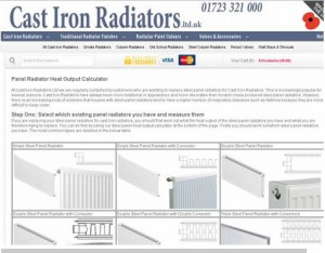 panel radiator calculator