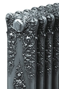 Platinum Painted Cast Iron Radiators