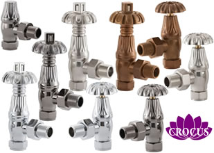 Crocus Radiator Valves