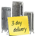 Polished Cast Iron Radiators in 3 days