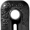 Satin Black Cast Iron Radiator Paint Sample