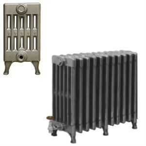 6 Column Cast Iron Radiators 410mm available in a range of finishes and sizes