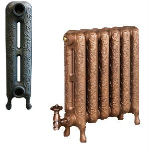 Art Nouveau Cast Iron Radiators 580mm