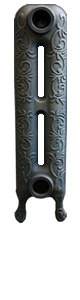 Small Art Nouveau Cast Iron Radiators 580mm assembled and finished to your exact requirements