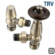 Bentley Thermostatic Radiator Valves - Antique Brass
