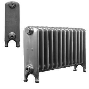 440mm Cambridge Old School Cast Iron Radiators assembled and finished to your exact requirements