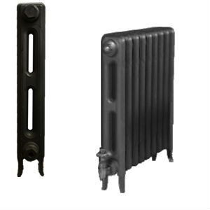 Edwardian 2 Column Cast Iron Radiators 660mm assembled to your exact requirements