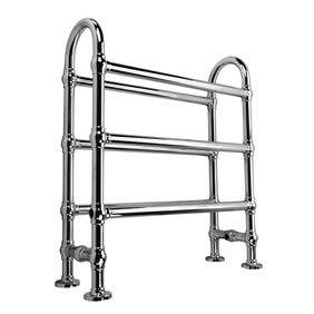 Freestanding Hooped Towel Radiator in Chrome SALE RRP£349 now £175