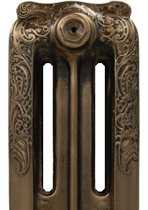 Matt Copper Cast Iron Radiators
