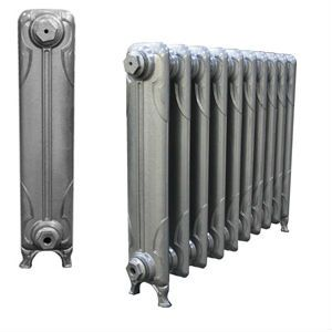 Narrow Knox Cast Iron Radiators 645mm