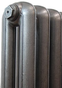 Pewter Cast Iron Radiators from our Precious metals range