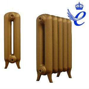 Queens 2 Column Cast Iron Radiators 620mm
