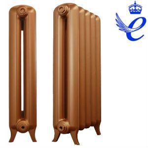 Queens 2 Column Cast Iron Radiators 920mm