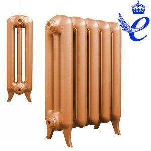 Queens 3 Column Cast Iron Radiators 620mm