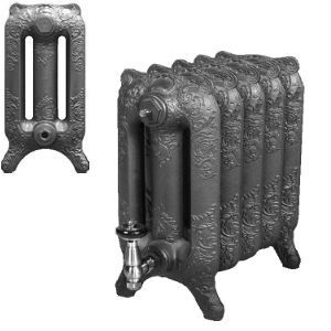 Traditional Decorated 470mm Rococo Cast Iron Radiators  assembled and finished to your exact requirements