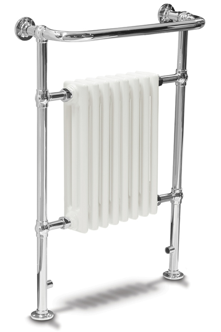 Sinclair 8 Section Towel Radiator -  Chrome <BR>SALE RRP £449 now £275