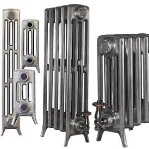 Cast Iron Radiators Sovereign 4 Column several heights