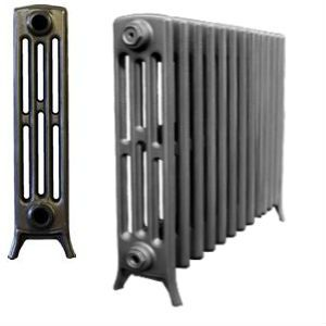 4 Column Cast Iron Radiators 660mm