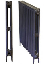 2 Column Bauhaus Cast Iron Radiators