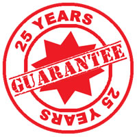 Our Cast Iron Radiators have up to a 25 year guarantee