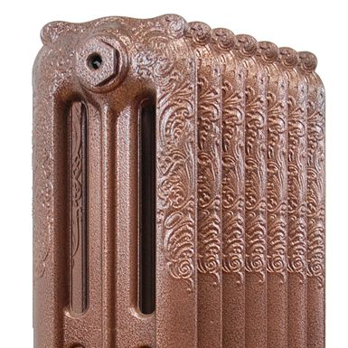 Antique Copper Powder Coated Cast Iron Radiators