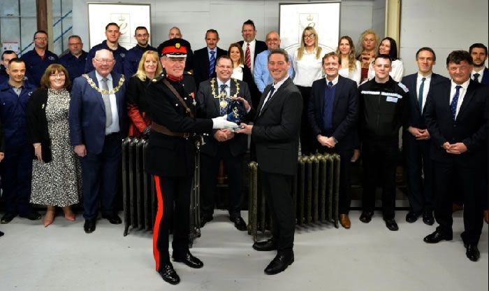 Cast Iron Radiators Receive the Queens Award for Enterprise