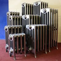 Arroll Edwardian 4 Column Cast Iron Radiators 760mm