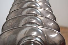 top of machine polished cast iron radiators