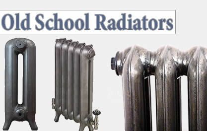 old school radiators