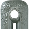 Pewter Cast Iron Radiator Paint Sample