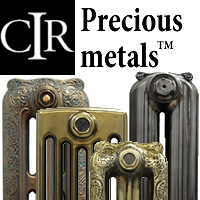 Precious Metals Finishes for Cast Iron Radiators