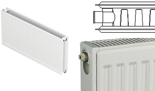 Single Convector Double Steel panel radiator