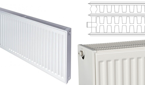 Triple Steel Panel Radiator with triple Convector