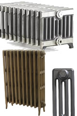 Victorian Column Cast Iron Radiators