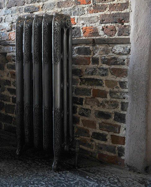 Highlight Polished Sovereign Rococo Cast Iron Radiators